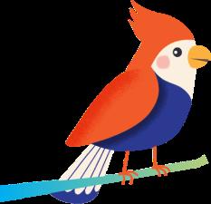 bird left